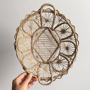 Other - Boho Vintage Basket